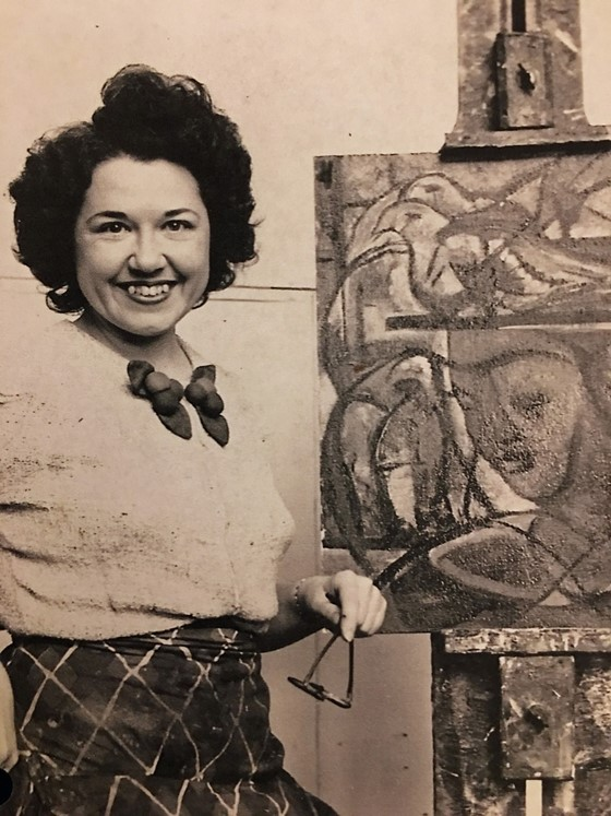 Image of Marjorie Johnson Lee at the Art Students League