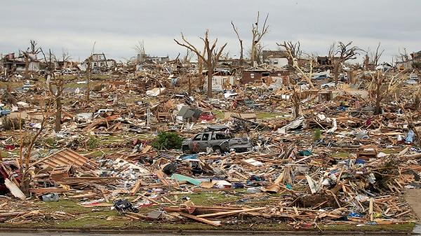 EF5 tornado damage in Joplin MI